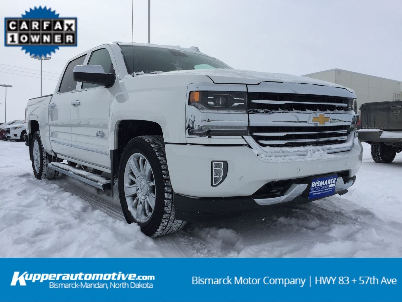 Pre Owned 2017 Chevrolet Silverado 1500 High Country